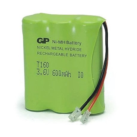 3 Accus rechargeables HR06 AA 600 mAh 3,6V - T160